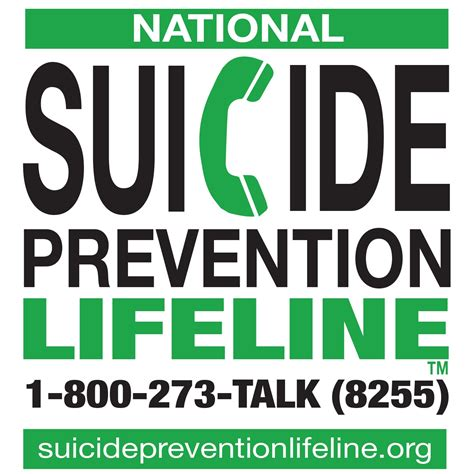 National Suicide Prevention Lifeline Official Logo