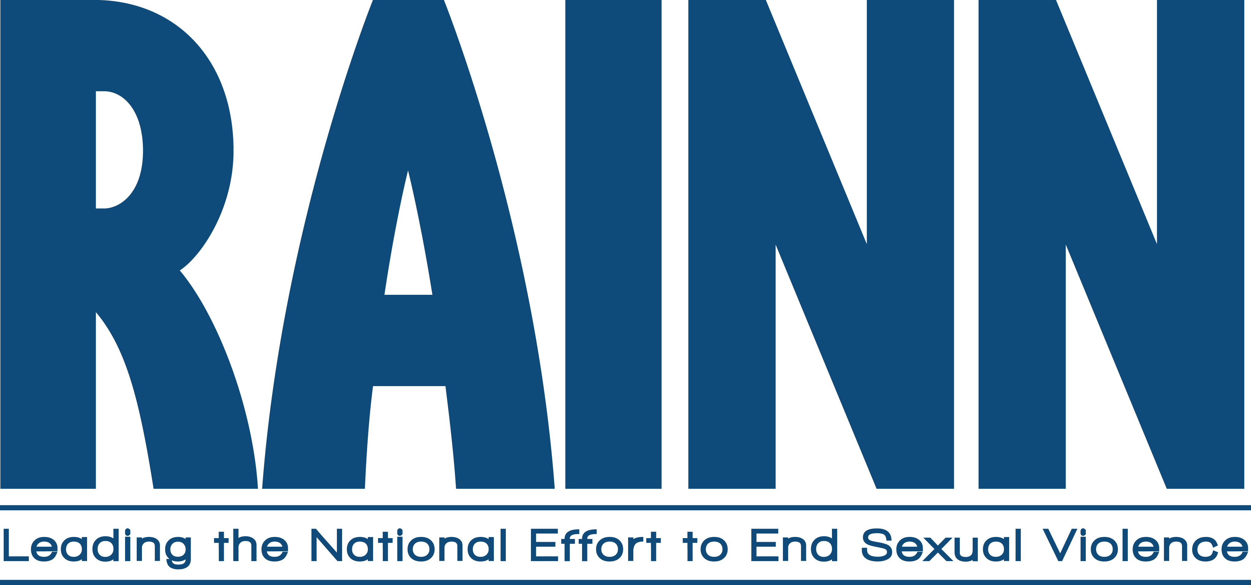 RAINN Leading the National Effort to End Sexual Violence Official Logo
